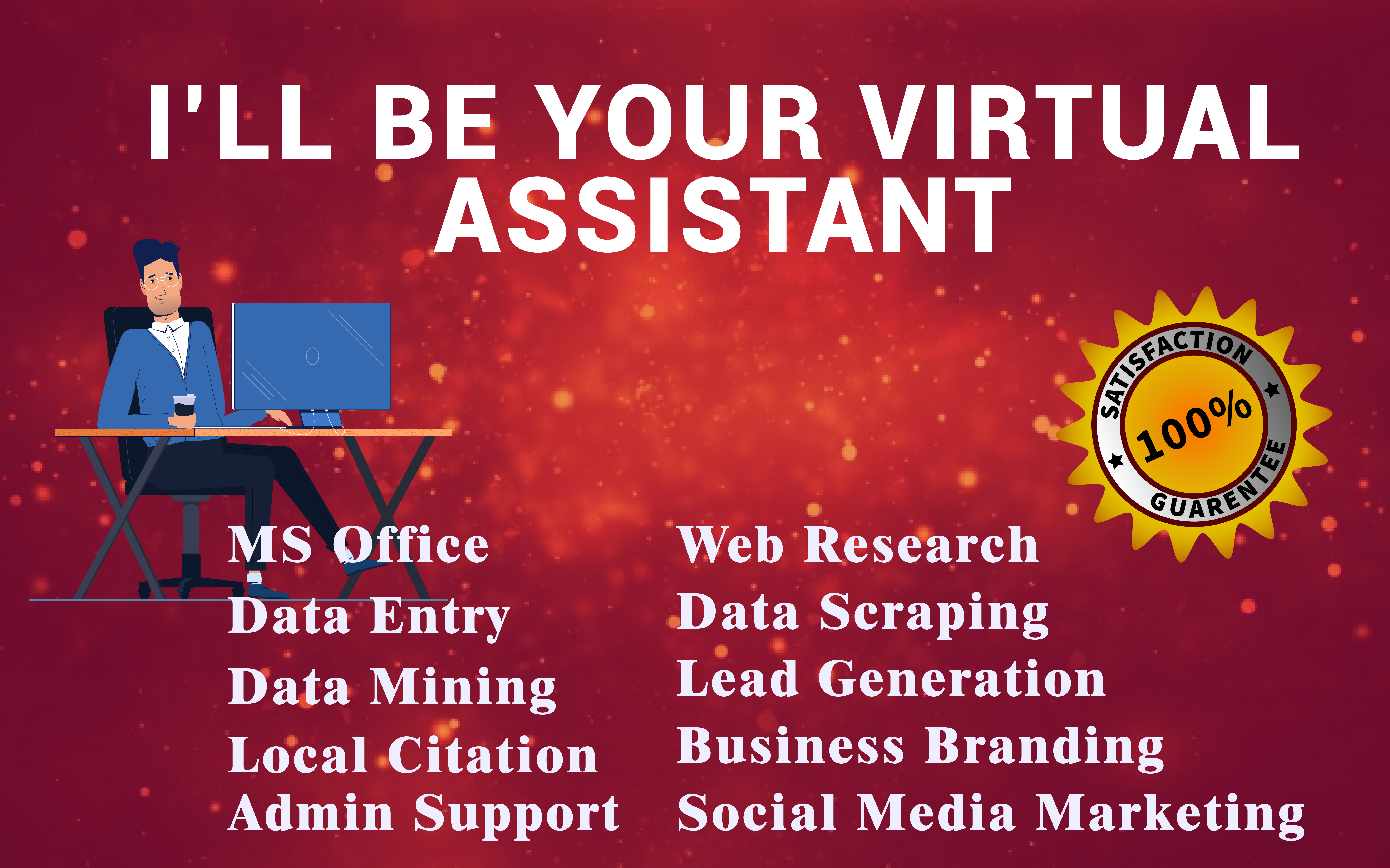 I Will Be Your Next Virtual Assistant For Your Future Work Or Other Purpose