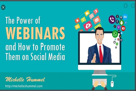 I will be your professional webinar promoter for your business