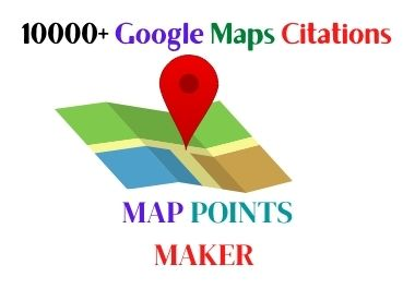 I Will Create Manually 1500 Google Map Point Citations For GMB Ranking