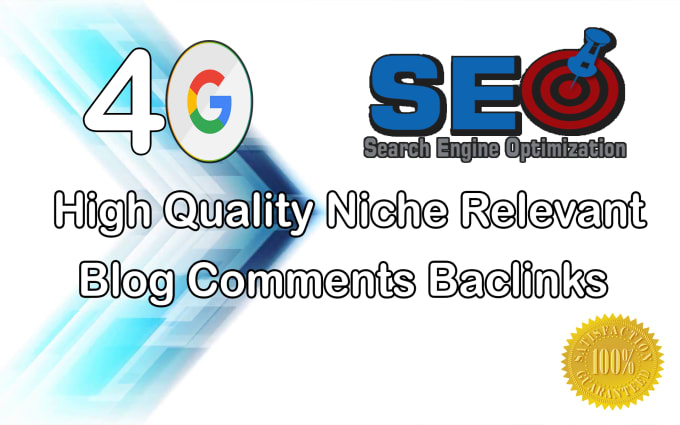 I will do 40 Niche Relevant Blogcommenting Backlinks with High Da Pa