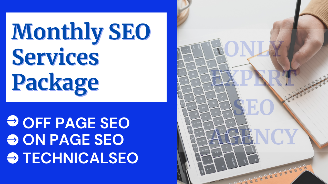 You will get to Google First page with monthly Onpage and Off- page seo service package