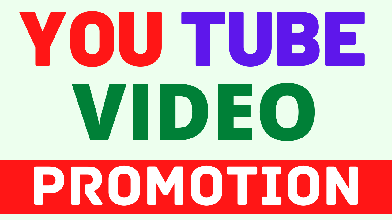 Best YouTube Video Promotion and Marketing Boost Your Video Ranking