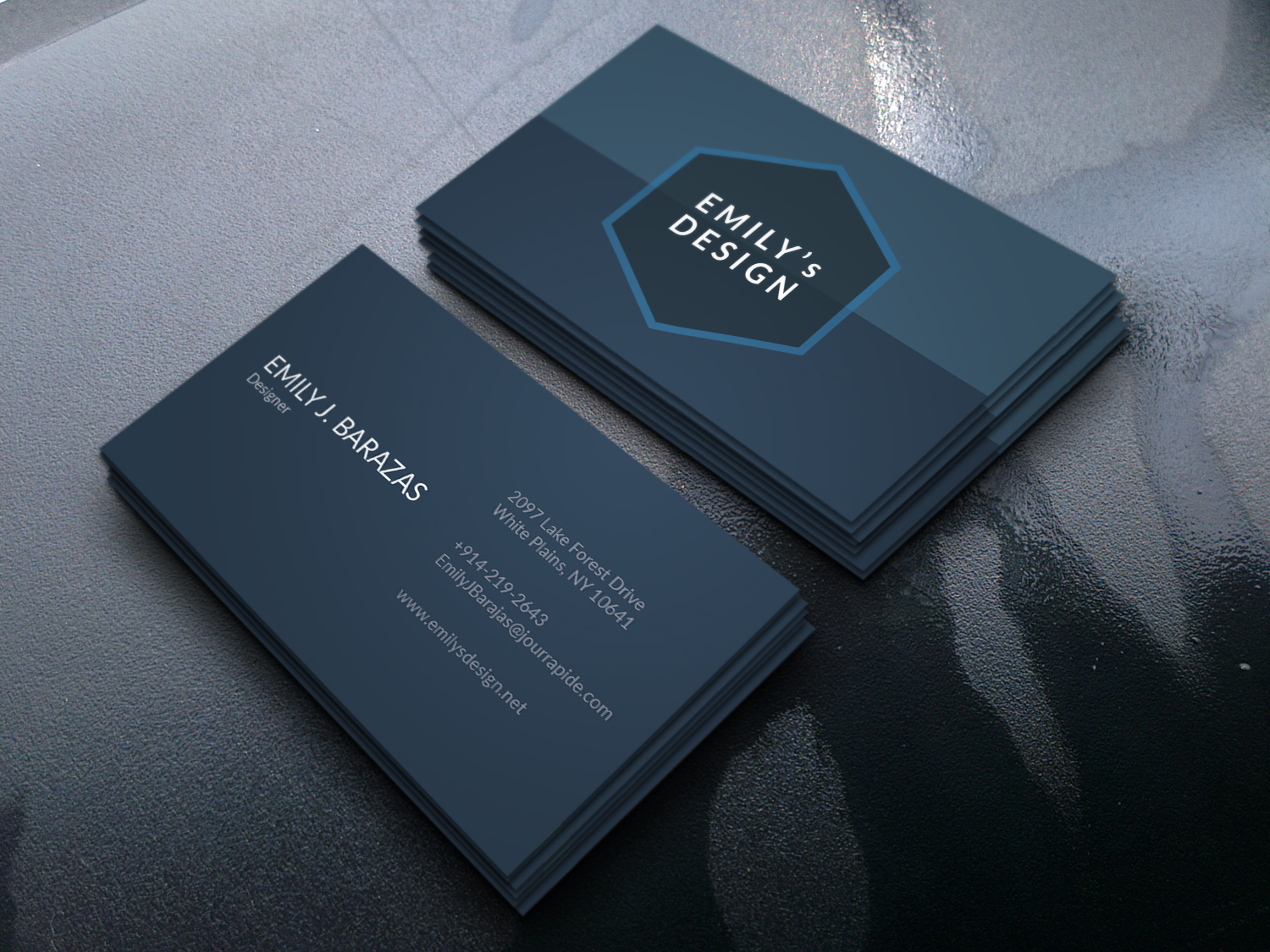 Minimalist & Professional Business Cards For Sale