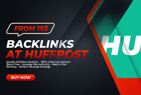 Backlink from huffpost. com for your Website