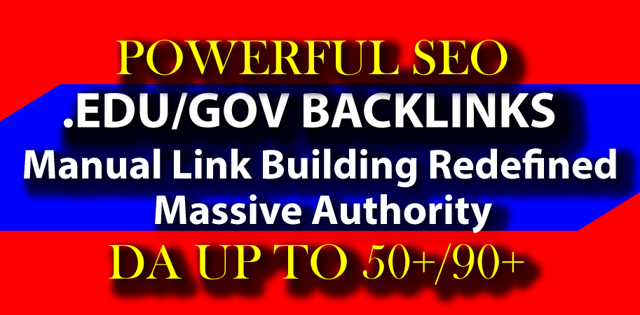 10+ EDU/GOV Profile Link Backlinks From Massive Authority Sites Fast Delivery