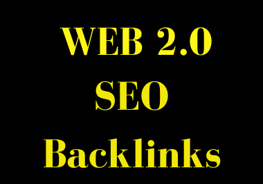 I will create Web 2.0 SEO Backlinks From High DA Sites
