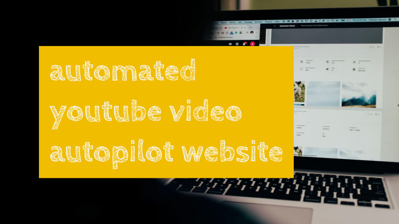 I will setup automated youtube video website for passive income