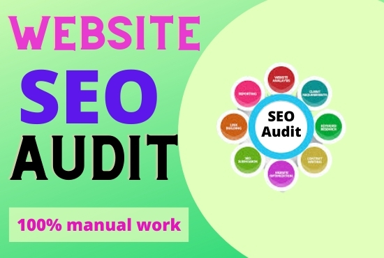 I will perform best SEO audit and competitor analysis for your site