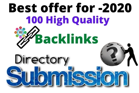 I Will Make High Quality 100 Directory Submission within 24 Hours