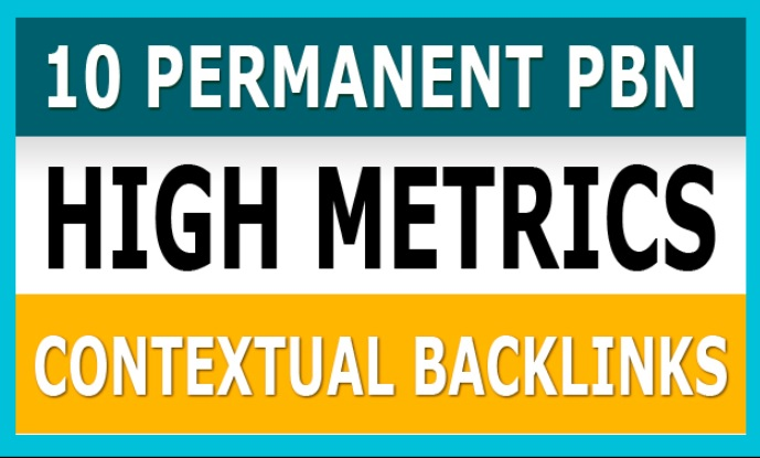 Create 10 High PA/DA TF/CF PBN Backlinks/PBN links for SERP To Improve Your Google Ranking