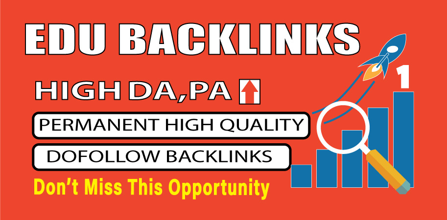 Provide 10 high authority EDU backlink
