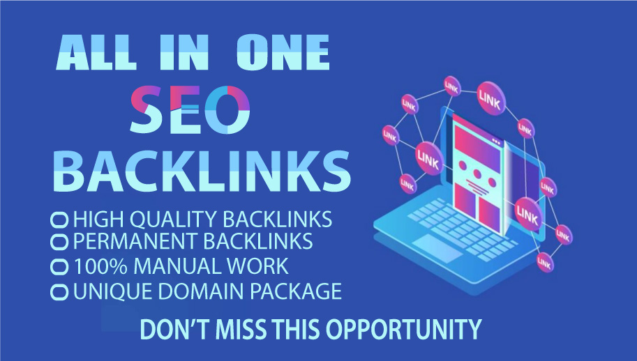 Quickly rank your website with my all in one backlink packages