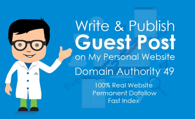 I will provide guest post on Multi Niche DA 49 Website