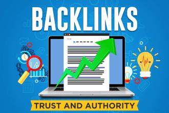 I will build SEO backlinks through high da guest posts