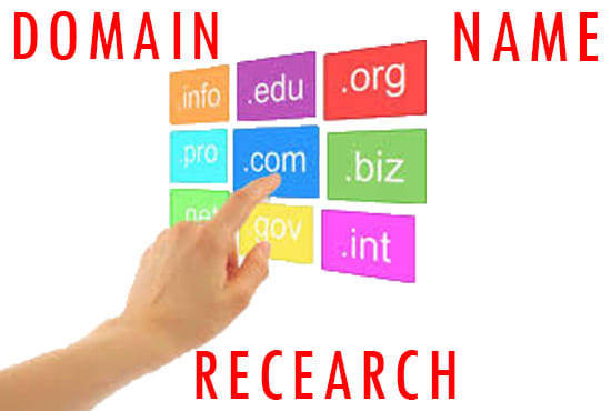 I will research new domain name for your business