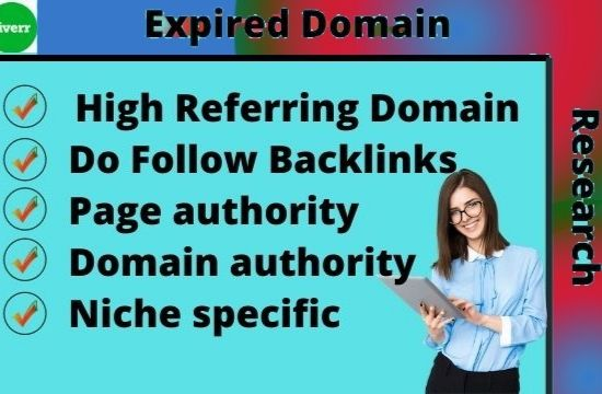 I will research best expired domain