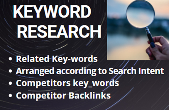 I will research high relevant domain and keyword