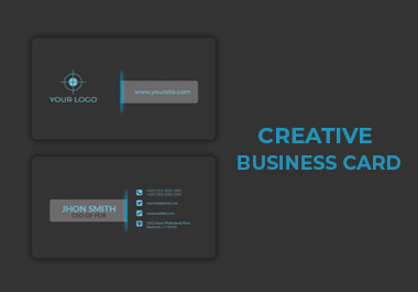 I will do Your Creative Business Card Design