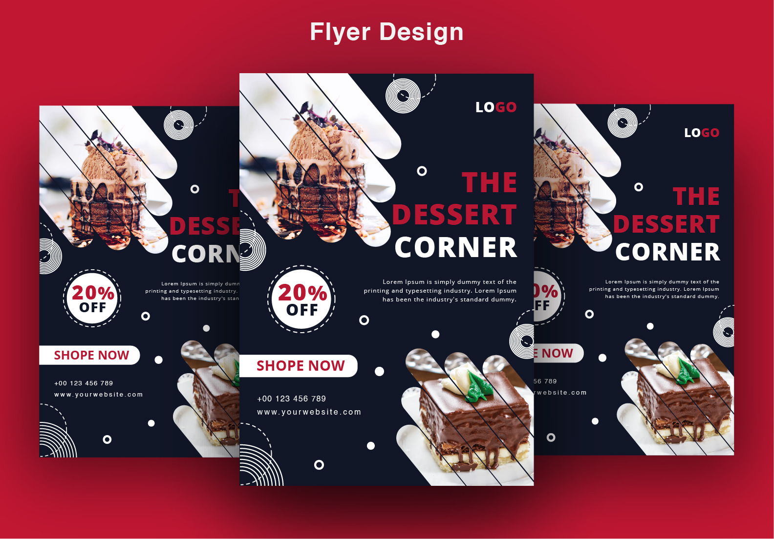 I will design creative and perfect flyer,  poster for you