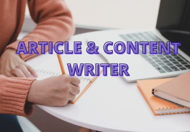I will Write 2000 Words SEO Friendly Content & Article