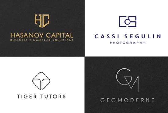 I will design a professional, unique, modern, minimalist and luxury logo