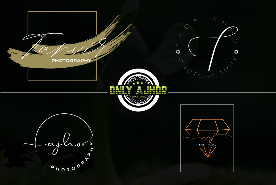 i will do signature logo design