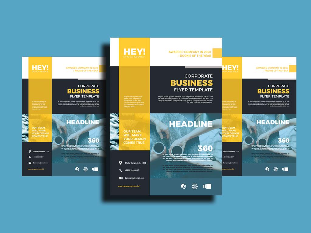 Professional Creative Flyer/Poster/Brochure Design
