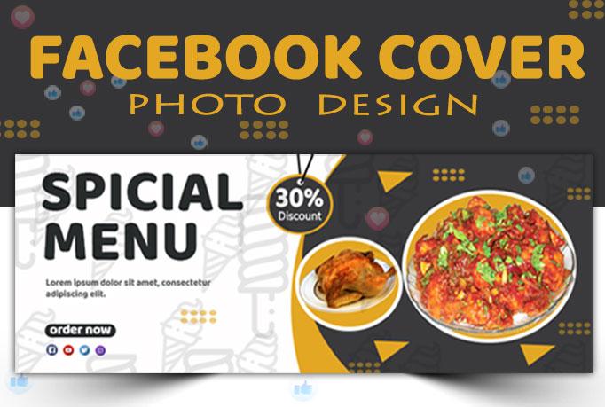 I will do facebook cover design