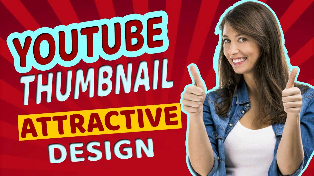 I will design youtube thumbnails unique