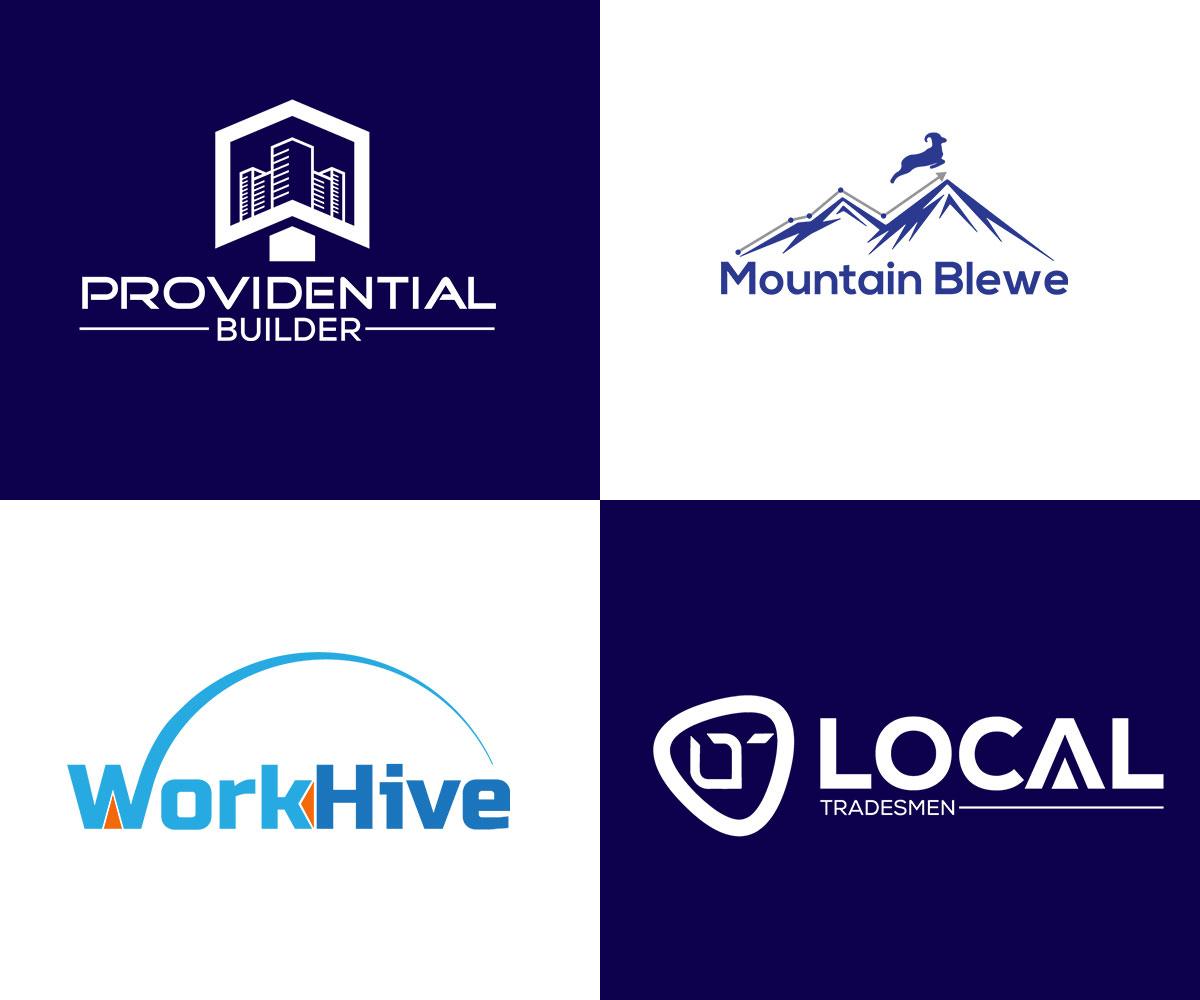 I will design up to 5 minimalist modern logo design concepts