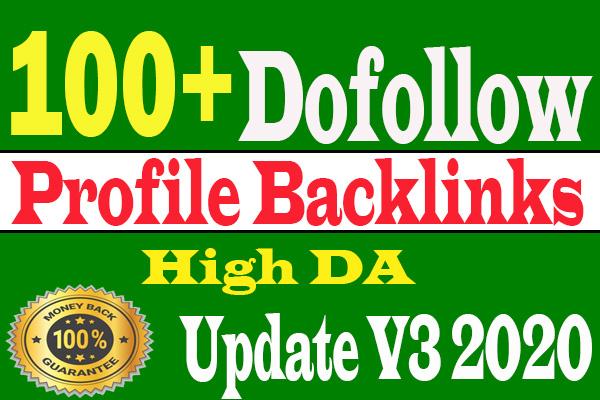 I will create manually 100 high da profile backlinks for SEO ranking