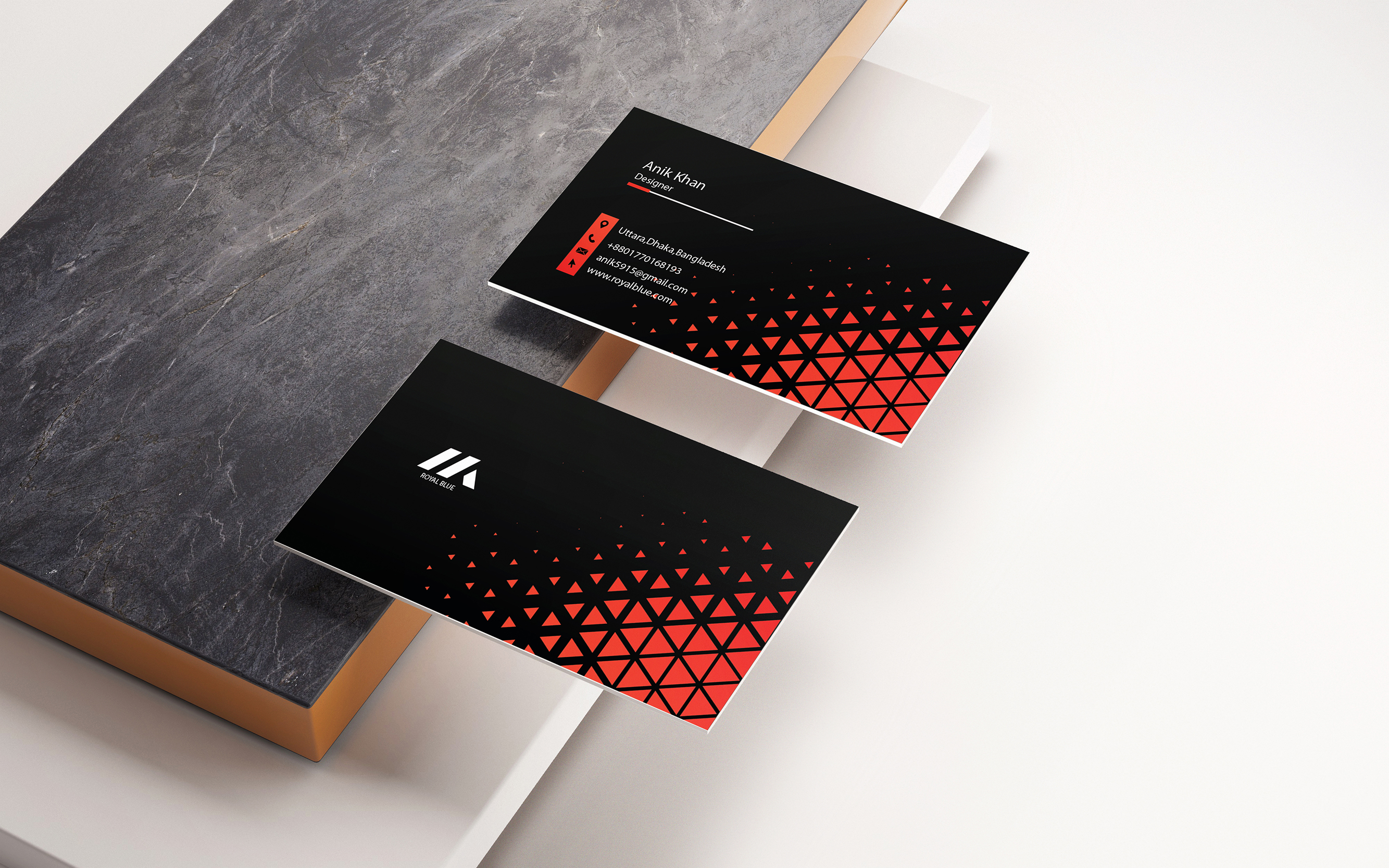 I will business card or stationery of creative design