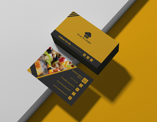 I will provide Modern or exclusive business card service