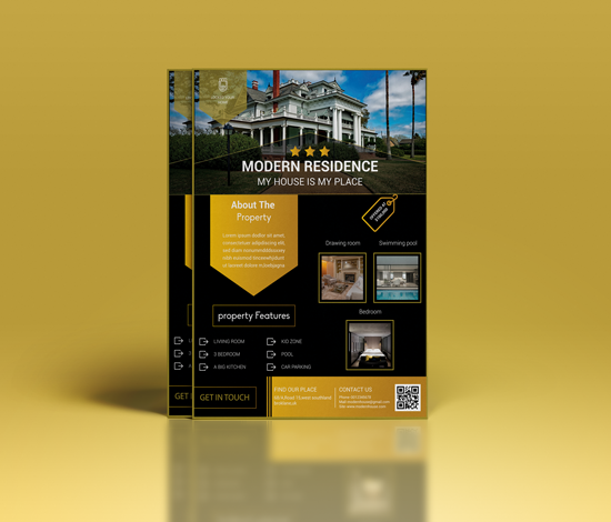 I will provide any kind of flyer design service