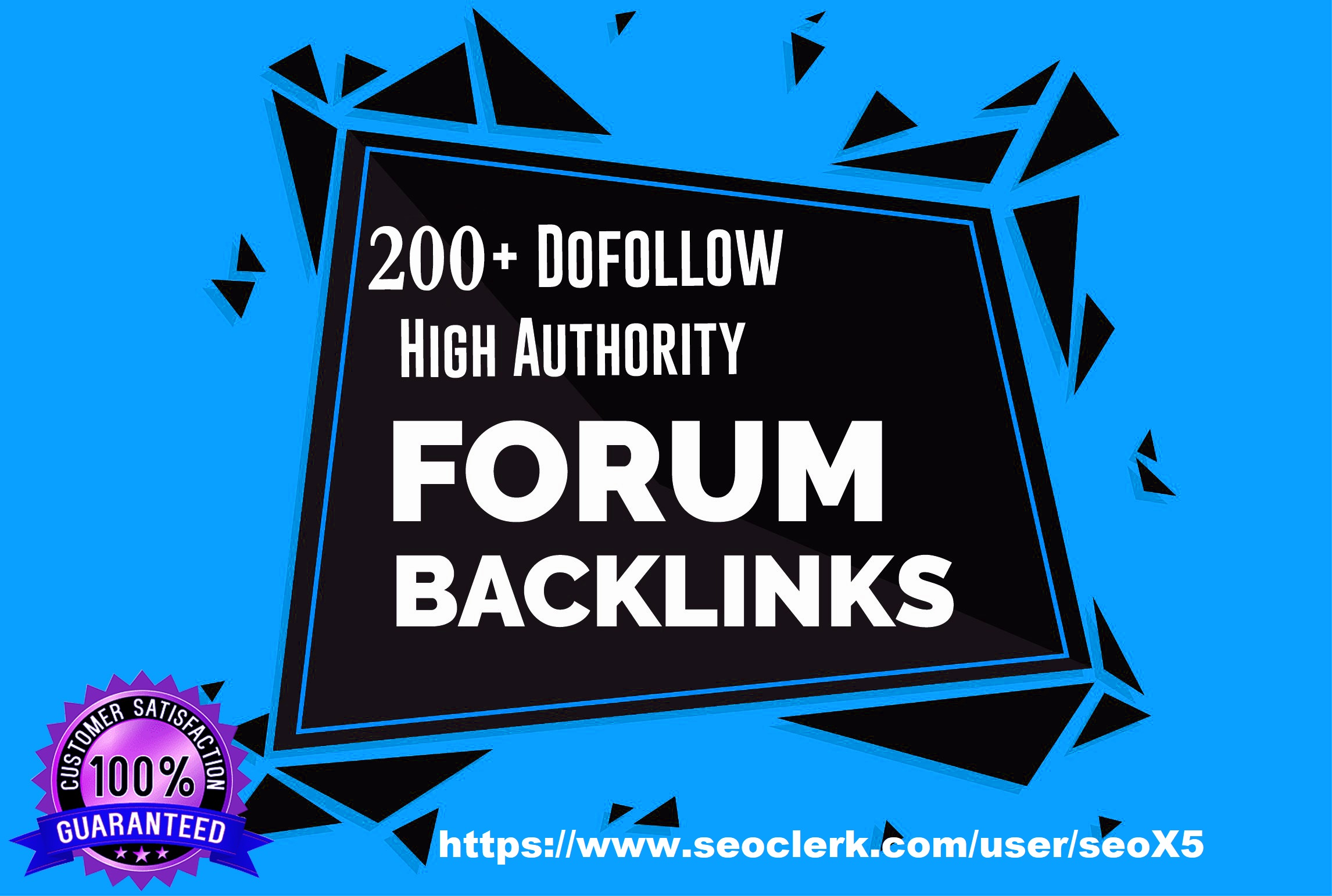 200+ High Authority Forum Profile Backlinks