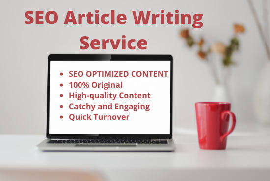 unique and manually written premium SEO article in 24 hours