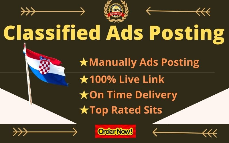 I Will Create Manually 30 Post Your Ads on USA,  UK,  CANADA,  AUSTRALIA,  Classified Ad Posting Sites