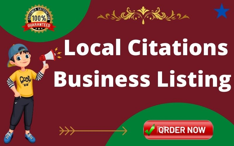 I will Create 30 local citations for the USA, UK, CANADA, AUSTRALIA, local listing business
