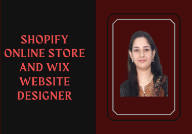 I will create and redesign shopify wix elementor pro and duda websites