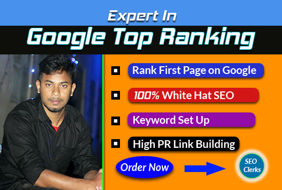 Google top ranking with white hat SEO service