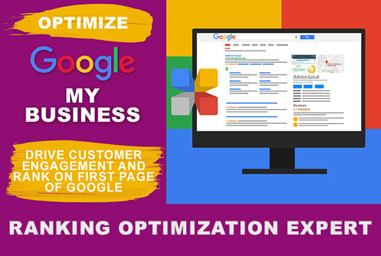 I will optimize google my business listing and heighten gmb ranked