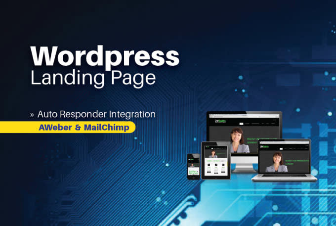 I will create any kind of responsive landing page