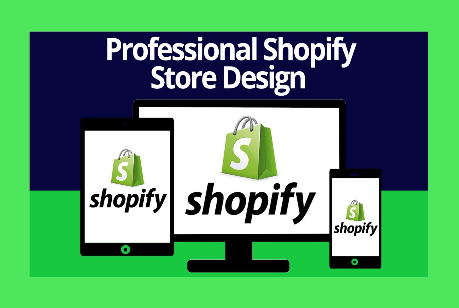 I will design a beautiful shopify drop shipping store