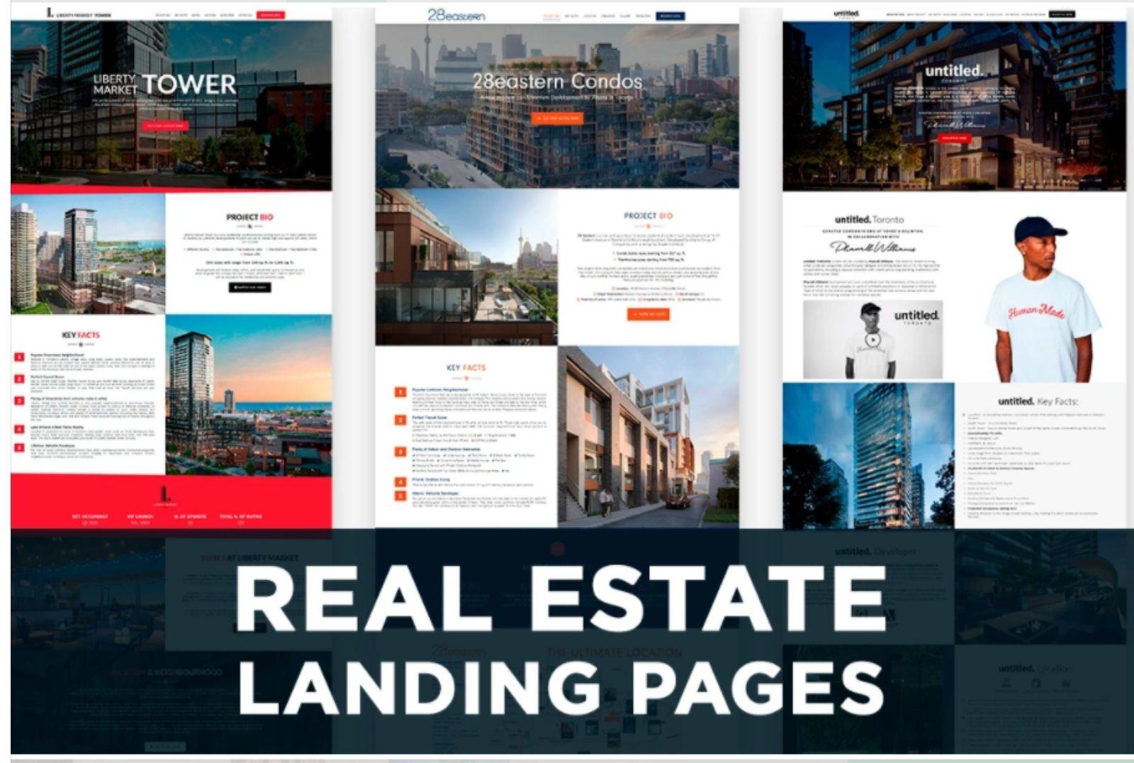 I will build custom WordPress landing page that converts