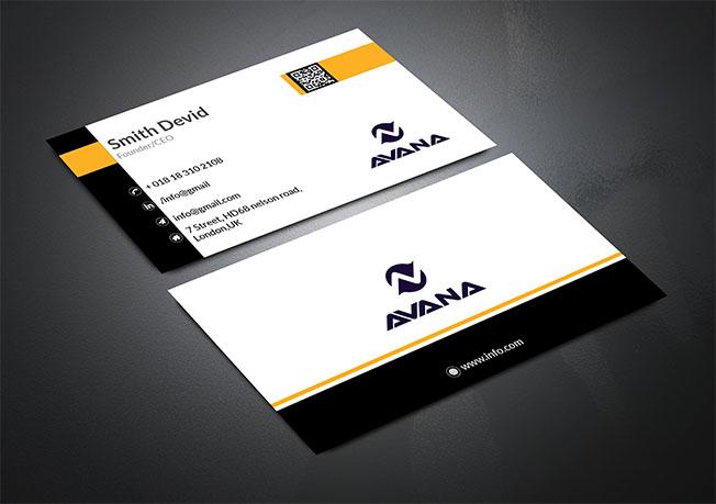 I will do business card design for you
