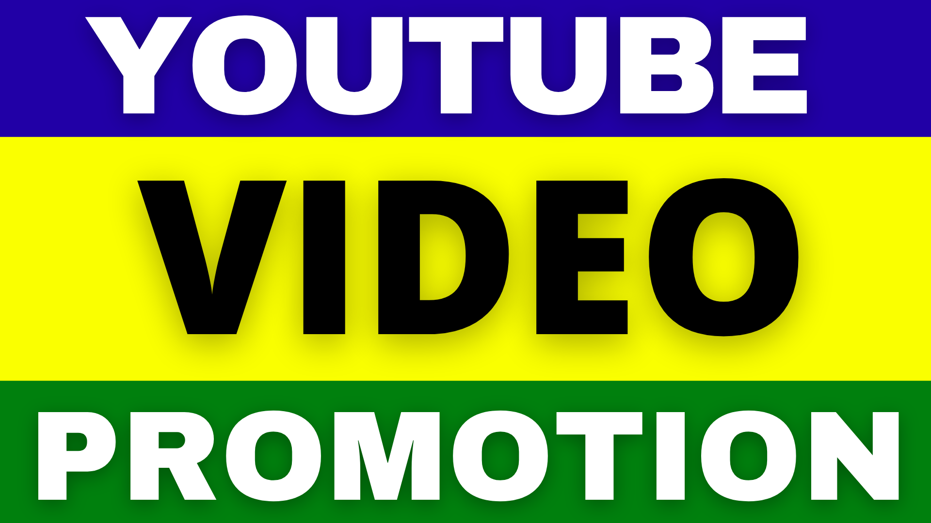 Best YouTube Video Promotion High Quality with extra bonus