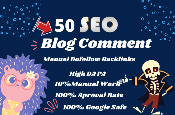 I will build 25 HTLM dofollow blog comment backlinks