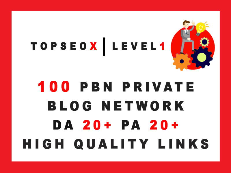 TOPSEOX 100 PBN Boost Your Ranking DA 20+ PA 20+ High Quality Links