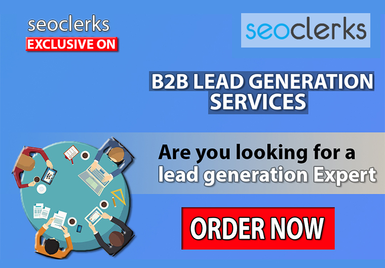 I will do B2B lead Generation, Data Entry, Data Mining, , web research, web scrapping, email list.
