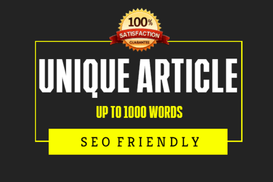 1000 words unique content article for your blog post